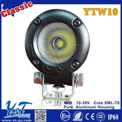 Hot Sale!!!Round 10w led work light, Mini led light 10w,Motorcycle lamp led work light