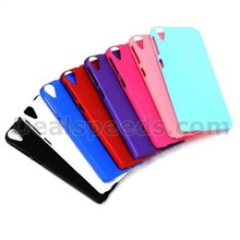 Rubberized Coated PC Hard Case for htc 820 case and covers for HTC Desire 820 D820u-8 colors