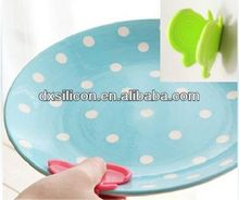 FDA/LFGB 2013 hot sell mini silicone butterfly microwave pot holder