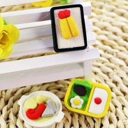 Factory Wholesale fruit and vegetable shape eraser