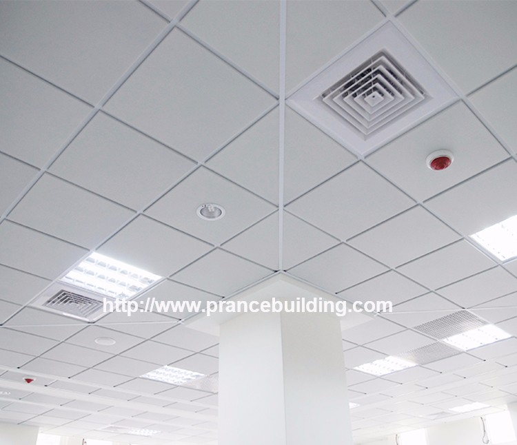 2017 New Laminated Pvc Gypsum Ceiling Tile Gypsum Board Design For