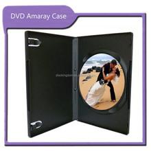 Factory DVD packaging CD DVD replication printing black DVD case