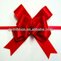 Satin Ribbon Pull Bow/Gift Wrapping Bow for christmas/valentine/harvest