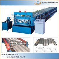 Steel Sheet Roofing Decker Manufacturing Equipment For Metal Roof Tile Roll Forming Machine