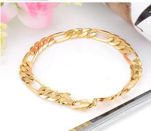 Fashion accessories best-selling traditional men's gold plated bracelets