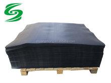 black hard HDPE plastic slip sheet uesd for push pull attachment