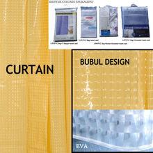 personalizado 3d amarillo eva y ciegos cortina hecha en china