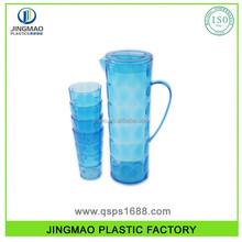 Plastic Juice pitcher with 4 cups set