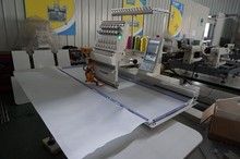 single head cording embroidery machine with