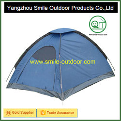 Blue advertise dome make camping exclusive tent
