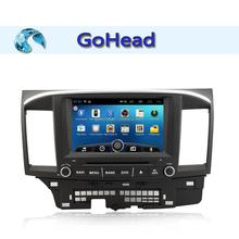 For Mitsubishi Lancer-ex Android 4.4 Bluetooth Audio Radio 3g Wifi MP3 GPS Car DVD Player