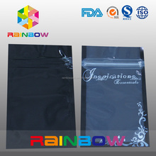 Personalized composite one side see through mylar bag for USB cable