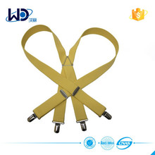 Mens and womens colorful elastic braces suspenders