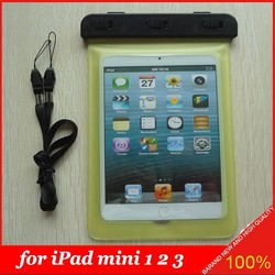 Summer Swimming Touchscreen Waterproof Bag for Apple iPad mini 1 2 3