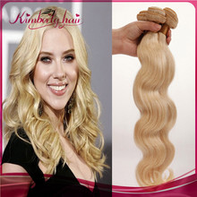 613 color blonde color human hair weaving/weave