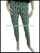 de impresión de algodón polainas de las mujeres y los pantalones