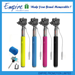 Fashion customize selfie stick for cell phone,new selfie stick,pocket selfie stick
