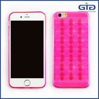 [GGIT] The waistline Ultra thin crystal clear tpu for iphone 6 case