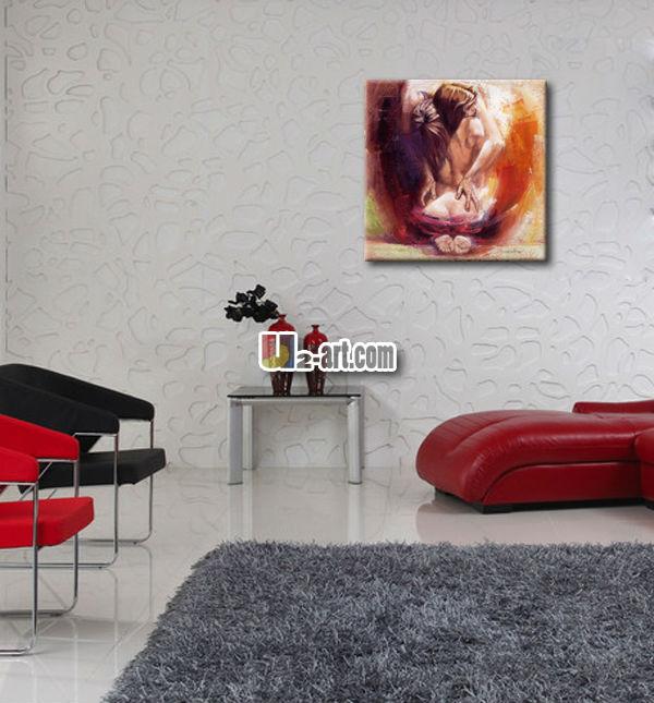 Reproduction mur art photos sexy homme femme pour chambre for Chambre hot