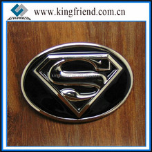 3D Classic SUPERMAN Logo Belt Buckle