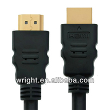 High Speed HDMI Cable 1.4V with Ethernet support 1080P,3D,with 24K gold plated connectors
