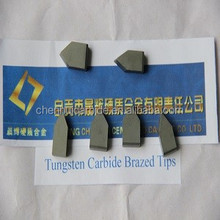 manufactory supply top quality tungsten carbide brazed tips Type F2