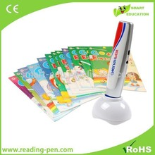MP3 reading pen, educational toy, game, scanning color pen
