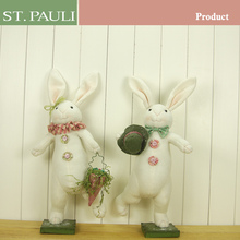 easter products factory accept customized order personalized big plush rabbit