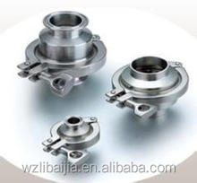 used in food sanitary standard check valve series