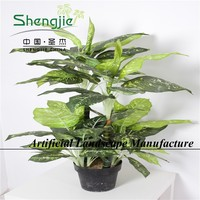 SJYP3214 good quality artificial greenery plants for fairy garden/home decoration