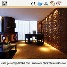 Eco-friendly DIY wall decoration for bedroom background /tv background home decor 3d wall panel 2016