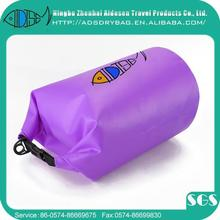 5L pvc transparent waterproof dry bag with handle