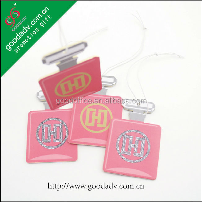 [Made in China] With frangrance Custom design Car paper air freshener