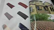 S type spanish clay curved roof tile for sale