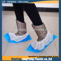 PP+PE shoe cover in working place