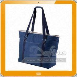 Nylon tote lunch bag
