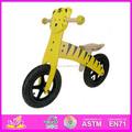 2015 nuevos niños de la bicicleta de madera, Los niños populares de dibujos animados de madera bici, Alta calidad de madera bicicleta de equilibrio WJ277574