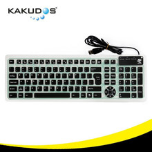 silicone laptop keyboard skins with USB ,your second keyboard