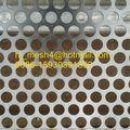 Perforado de malla paneles/alminum panel perforado