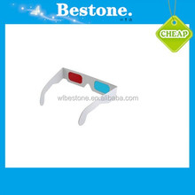 Hot selling cheap paper 3D glasses