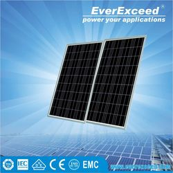 EverExceed 150W Polycrystalline Solar Panel warranted for 5 years with ISO/CE/IEC certificates