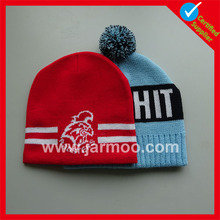 free design hot sell conch pattern knitted beanie