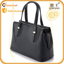 New Fashion knit handbag knit leather bag office leather bag