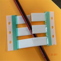 Heat shrinkable polyolefin wire marker sleeves