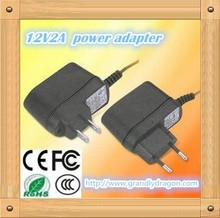 Power adapter manufacturer 12v 2A with KC/UL/Rohs/GS/CE/C-TICK/ PSE/CB/FCC certifictions