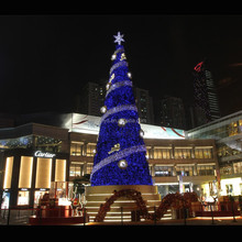 High Quality unique designed shopping mall large christmas decor with various gifts