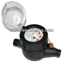 Medidor de agua para 15 mm giratoria rueda de la paleta seco Dial imán