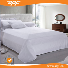 Hot sale water wave jacquard design flat bed sheet from china textiles