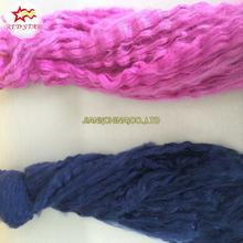 Recycled dope dyed 1.5D Polyester tow PET fiber tow regenerated tow fiber for non-woven