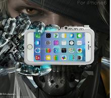 5% Discount!!!Factory Price!!! Aluminium Bumper For Apple Iphone 6 6s 4.7 Trigger Machinery Metal Armor Case